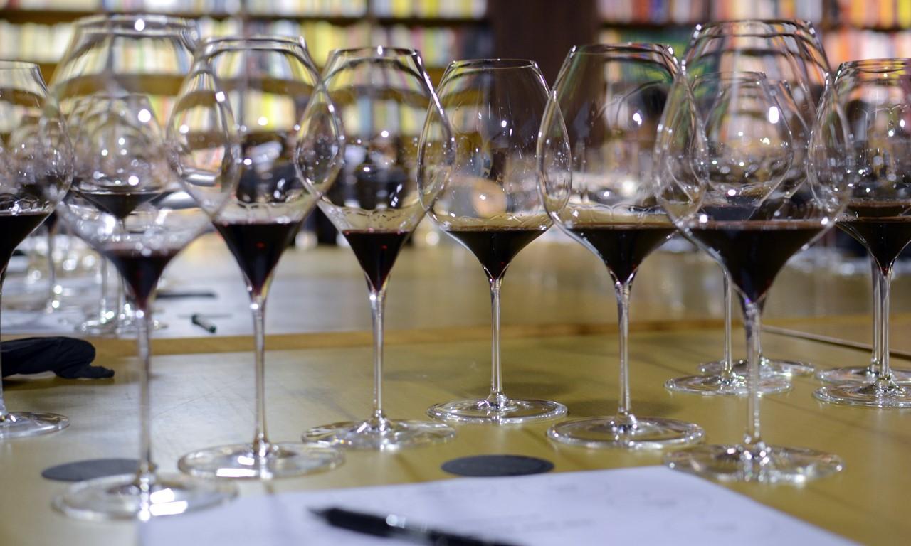 Foto copas de vino