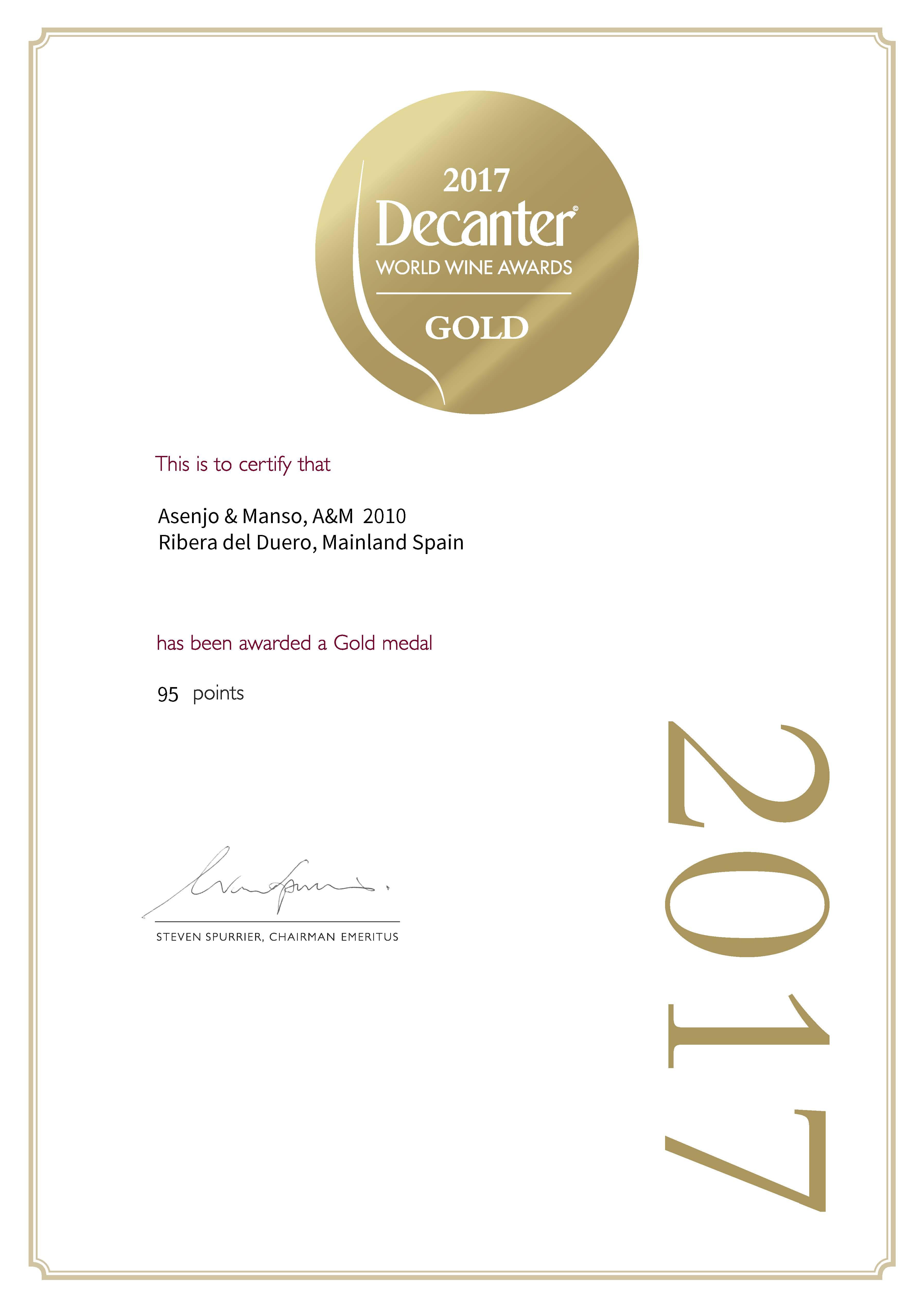 Certificate_WINE100119_SP_DWWA2017